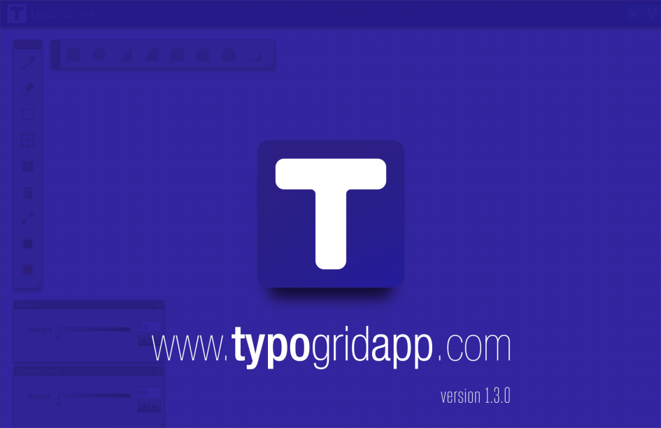 TypoGrid Web App. New tool for typographers/calligraphers & Pixel artists.